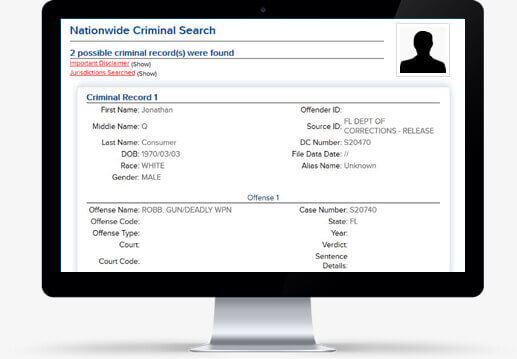 Nationwide Criminal Search
