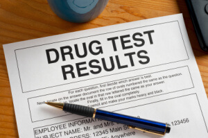 Drug test Results Report